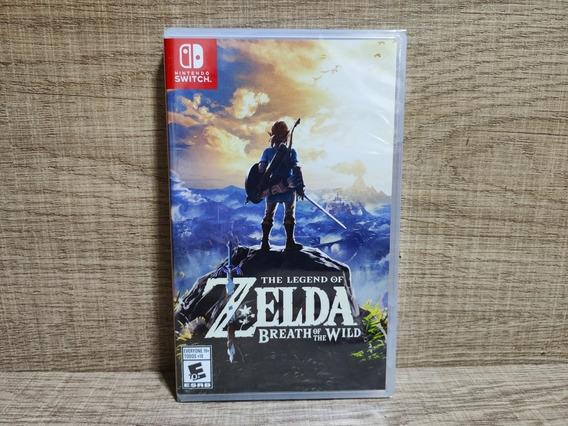 The Legend Of Zelda Breath Of Wild Switch - Lacrado