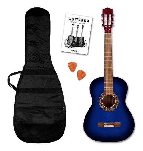 Imagen 1 de 10 de Guitarra Criolla Clasica Con Funda Varios Colores Cuotas