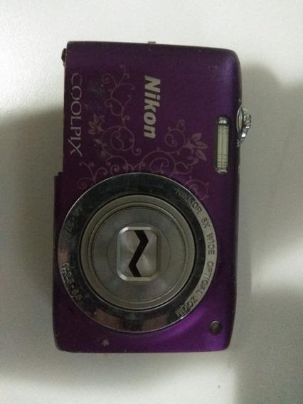 Câmera Nikon Coolpix S2700 Digital - Com Defeito