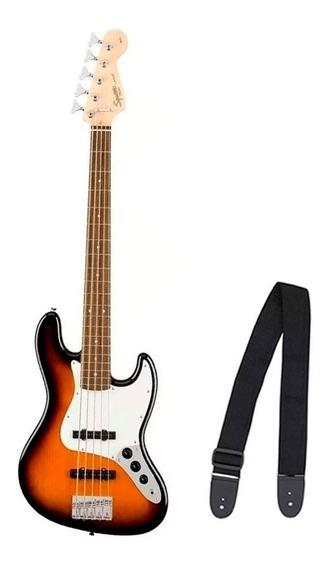 Contra Baixo Fender 037 1575 - Squier Affinity J. Bass V Lr - 532 - Brown Sunburst