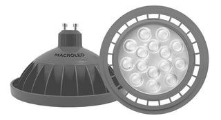 Lampara Led Ar111 Gu10 11w 220v Calida Macroled