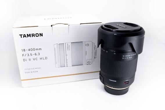 Lente Tamron 18-400mm F/3.5-6.3 Di-ii Vc Hld Para Nikon