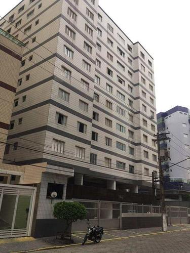 Imagem 1 de 18 de Apartamento Com 1 Dorm, Ocian, Praia Grande - R$ 180.000,00, 55m² - Codigo: 5722 - V5722
