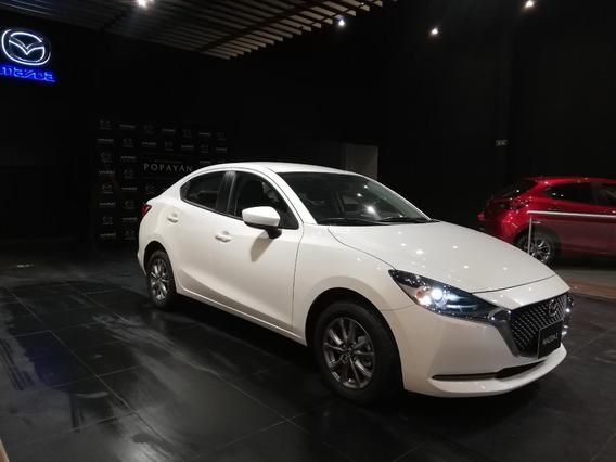 Mazda 2 Touring Sedan Automatico 1.5 Blanco Perlado 2021