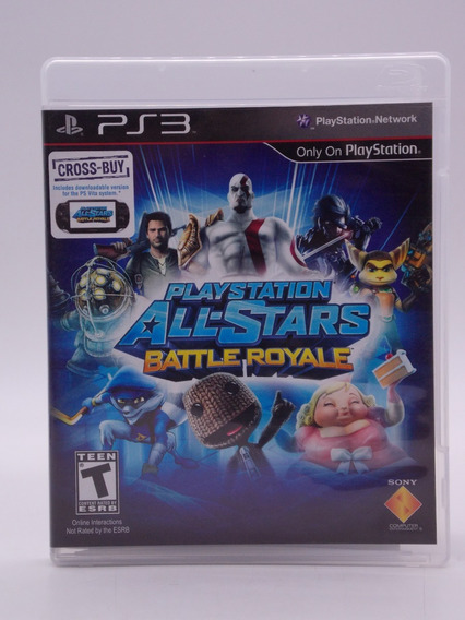 Play Station All-stars Battle Royale Play Station 3 Original