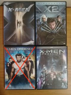 X Men Coleccion Peliculas Dvd Wolverine Origenes,apocalipsis