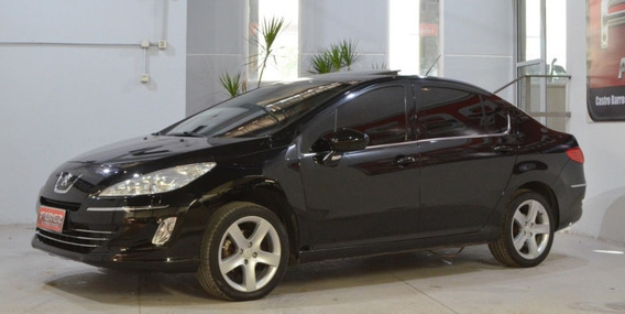 Peugeot 408 Negro 2014 Feline Nafta 2.0n Muy Buen Estado!!