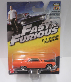 Hot Wheels 1970 Plymouth Roadrunner Fast & Furious 7