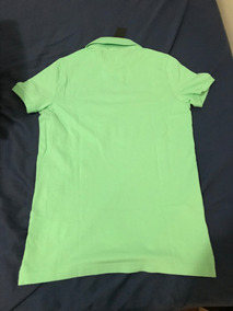 Camisa Polo Hollister Epic Flex Verde Claro