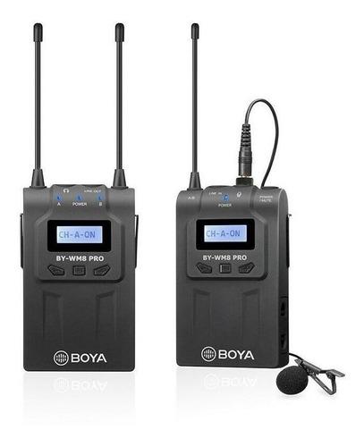 Imagem 1 de 2 de Microfone sem fio Boya BY-WM8 Pro K1 condensador  omnidirecional