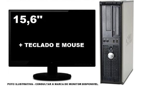 Computador Dell Optiplex 380 Intel 4gb Ddr3 120gb Ssd