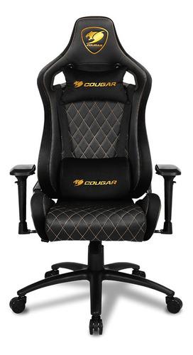 Silla Gamer Cougar Armor S Royal Negro/amarillo Pcm