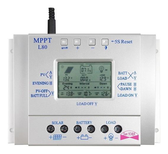 Controlador Solar 80 Amperes Mppt ( O Novo L80)