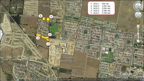 Terrenos Comerciales En Venta En Solares, Zapopan, Jal.