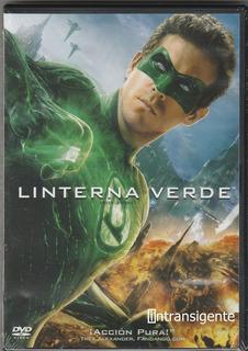 Linterna Verde Green Lantern - Ryan Reynolds (pelicula Dvd)