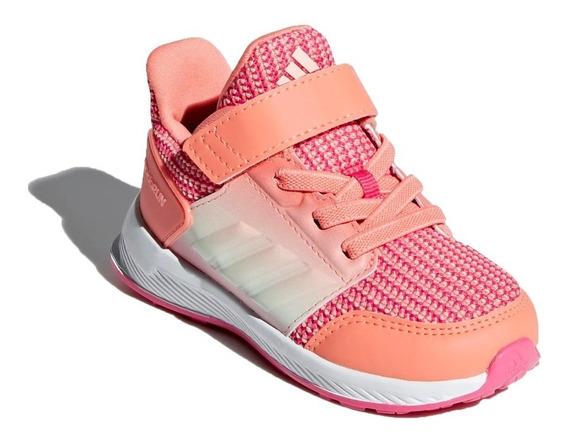 Zapatilla adidas Running Niña Rapida Run El I Rosa Ras