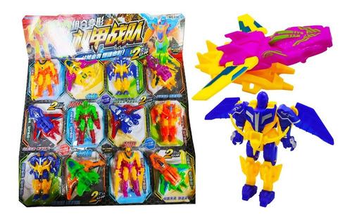 Robot Transformers Grande Juguete Articulado Para Niños