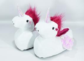 Pantufla Unicornio Varios Colores Disponibles.