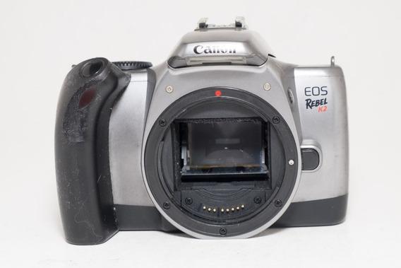 Canon Eos Rebel K2 - Analógica - Peças Ou Decoração