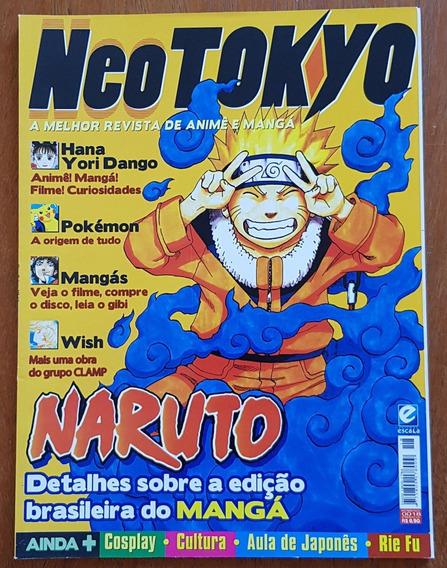 Revista Neo Tokyo Nº 18 Naruto Hana Yori Dango Pokémon Wish
