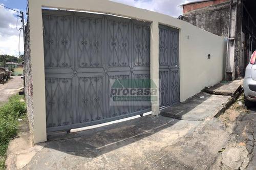 Imagem 1 de 10 de Casa Com 3 Dormitórios À Venda, 105 M² Por R$ 180.000,00 - Flores - Manaus/am - Ca4053
