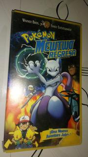 Pokémon Película Vintage Vhs Mewtoo Regresa Español