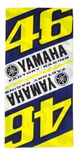 Bandana Valentino Rossi Vr46 Yamaha Tubo Mágico