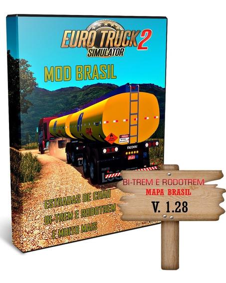 Euro Truck Simulator 2 Mod Bi-trem E Caminhão Brasileiro