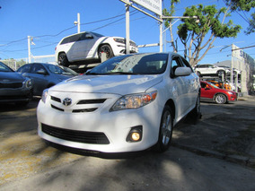 Toyota Corolla 2011 1.8 Xle Aa Ee Cd R-16 Abs At Blanco