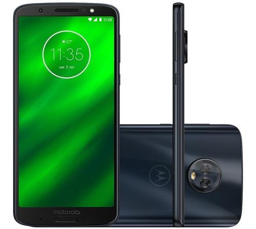 Queima De Estoque Celular Moto G6 Plus Tv 64 Gb - 4 Gb Ram