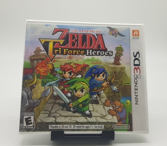 M. Física The Legend Of Zelda Tri Force Heroes Nintendo 3ds