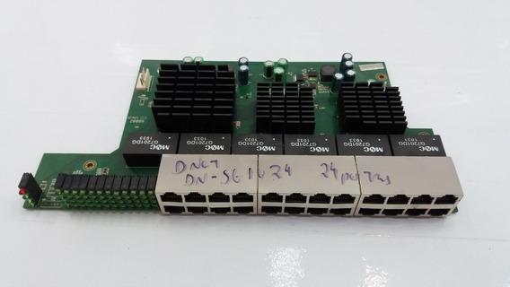 Placa Lógica Switch D-net Dn-sg1024 24 Portas