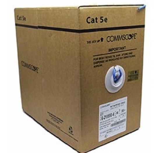 Cable Utp Cat-5e Amp Commscope (precio Por 3 Cajas 305m)