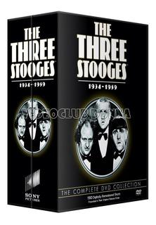 Los Tres Chiflados Colección Completa 190 Cortos Latino Dvd