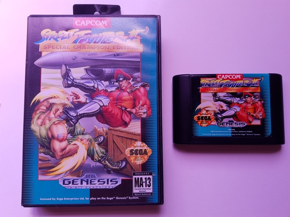 Street Fighter 2 Special Champion Edition Americano Completo
