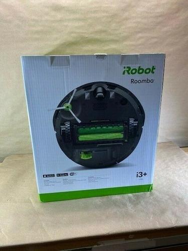 Robot Aspirador Irobot Roomba I3 + 3556 Conectado A Wi Fi...