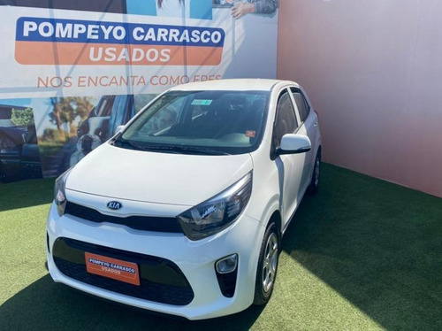 Kia Morning  Ex 1.2l 5mt Abs Ac 2017