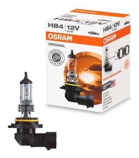 Lampada Avulsa Original Osram Baixo Alto Encaixe Hb4 Stander