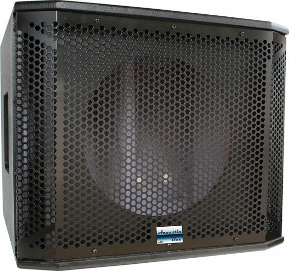 Kit 2 Gabinetes De Caixa Acústica Subwoofer P/ Uso Com 1x18