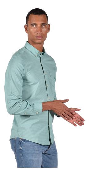Camisa Chaps Hombre 750722883-204w Verde