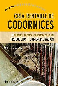 Codornices Cría Rentable De, Luis Lazaro, Continente