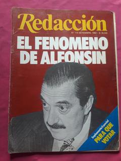 Revista Redacción Nº 115 Septiembre 1982 Alfonsin Suplemento