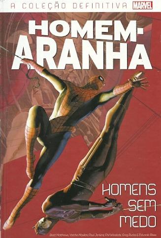 Coleção Definitiva Homem - Aranha Edição 39 Homens Sem Medo