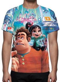 Camisa, Camiseta Wifi Ralph - Promoção