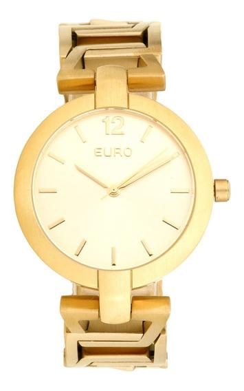 Relógio Euro Feminino Dourado Eu2035yer/4d