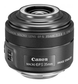 Lente Canon Ef-s 35mm F2.8 Macro Is Stm