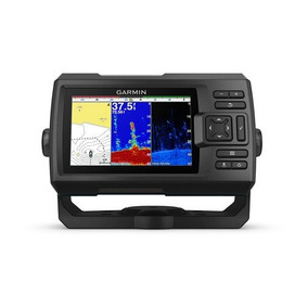 Gps Sonar Garmin Striker Plus 5cv Fishfinder C/ Transducer