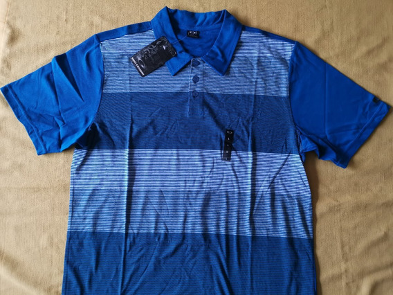 Playera Polo Oakley Blockade Polo 432601ovt Talla Grande
