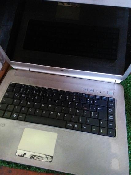 Notebook Sony Vaio Para Peças Mod Pcg-7144p Leia Anuncio