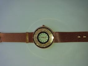 Relógio Cristais Várias Cores